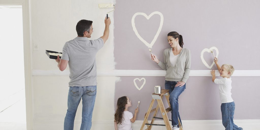 Family painting improvement projects