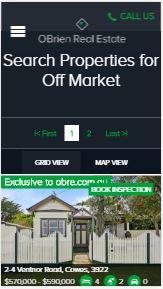 OBrien real estate off market properties
