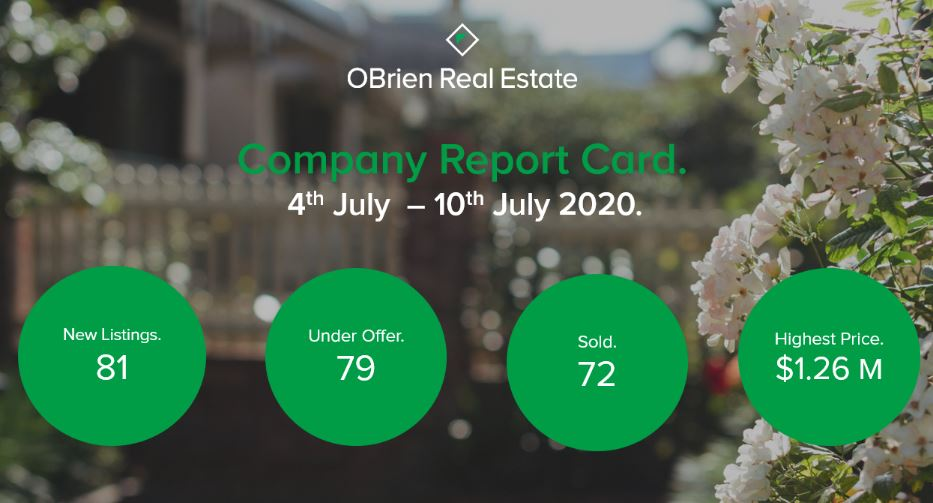 Property News OBrien Real Estate July 2020
