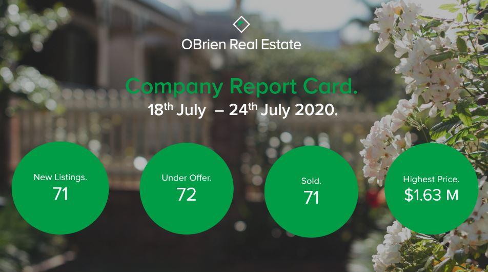 Property News OBrien Real estate July 31 2020