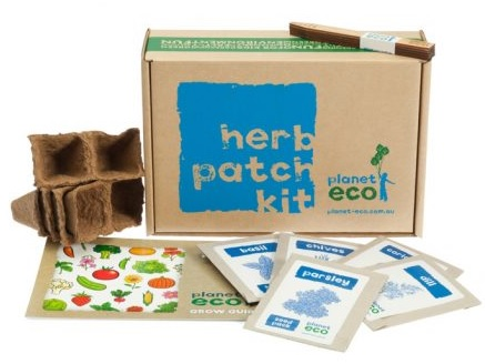 Herb garden for kids