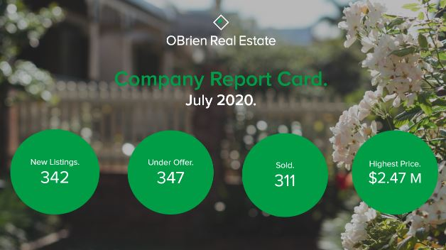 OBrien Real Estate property news August 3 2020
