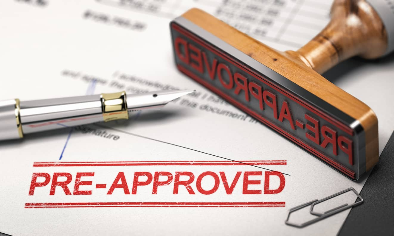 Tips for getting loan pre-approval.