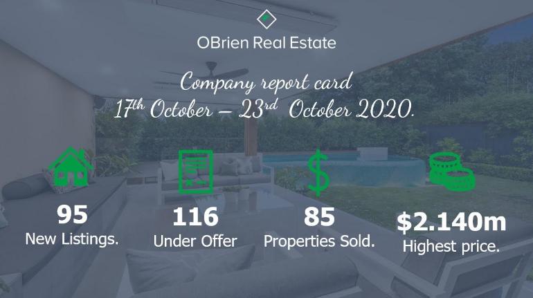 OBrien Real Estate property news October