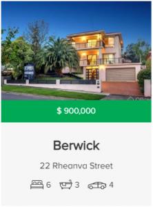 Real estate appraisal Berwick VIC 3806