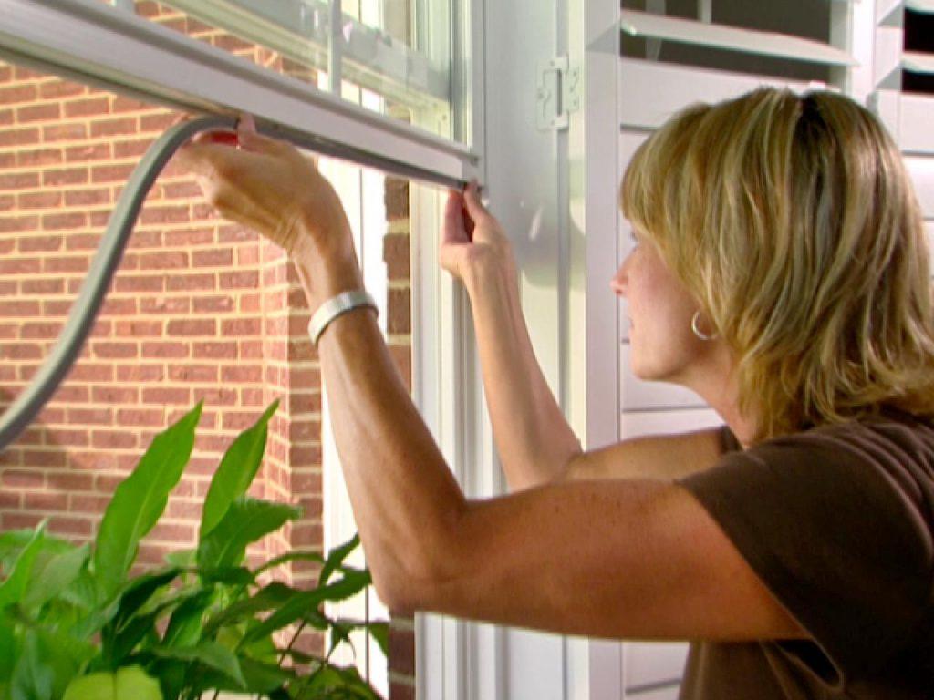 Insulate windows for winter