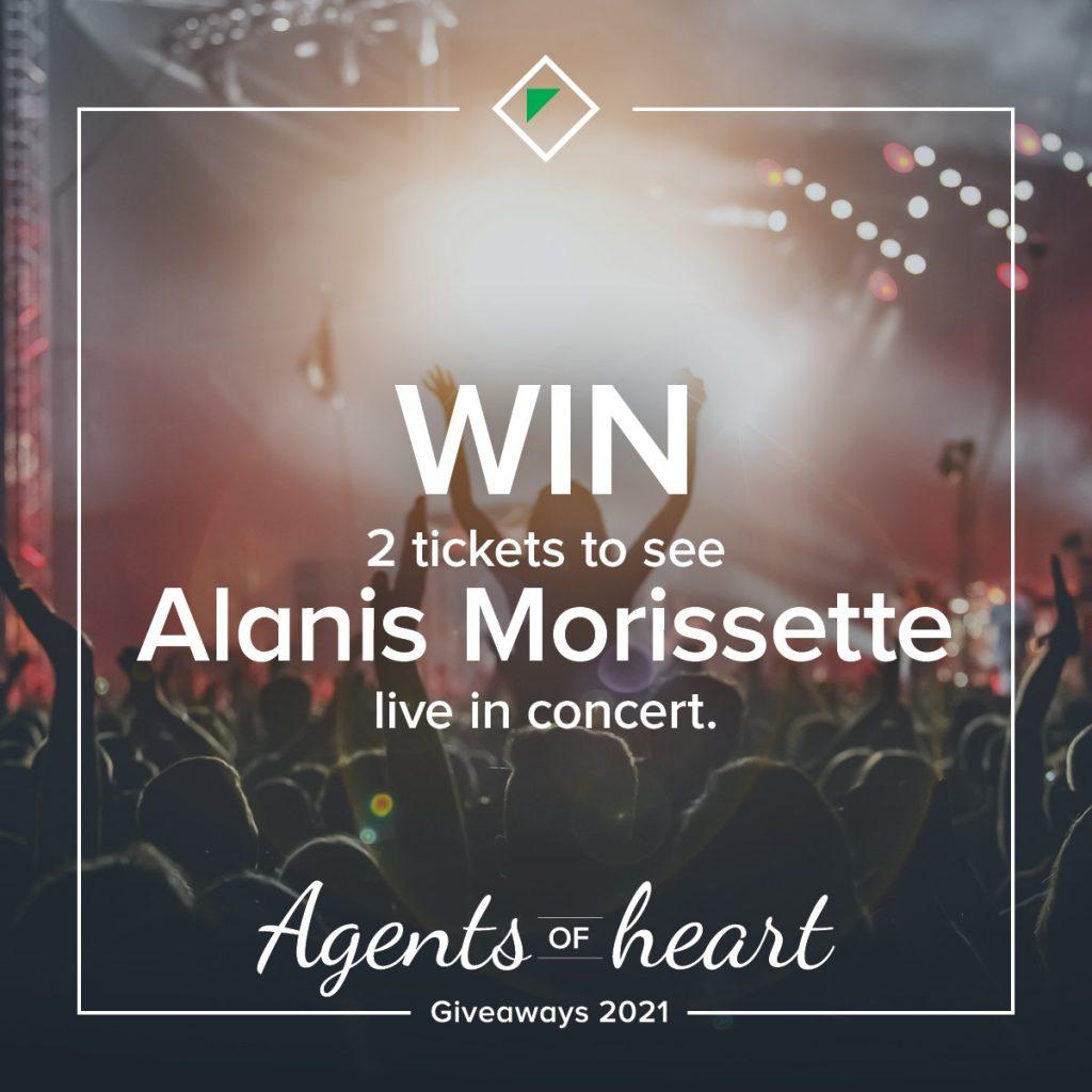 OBrien Real Estate Alanis Morisette prize giveaways