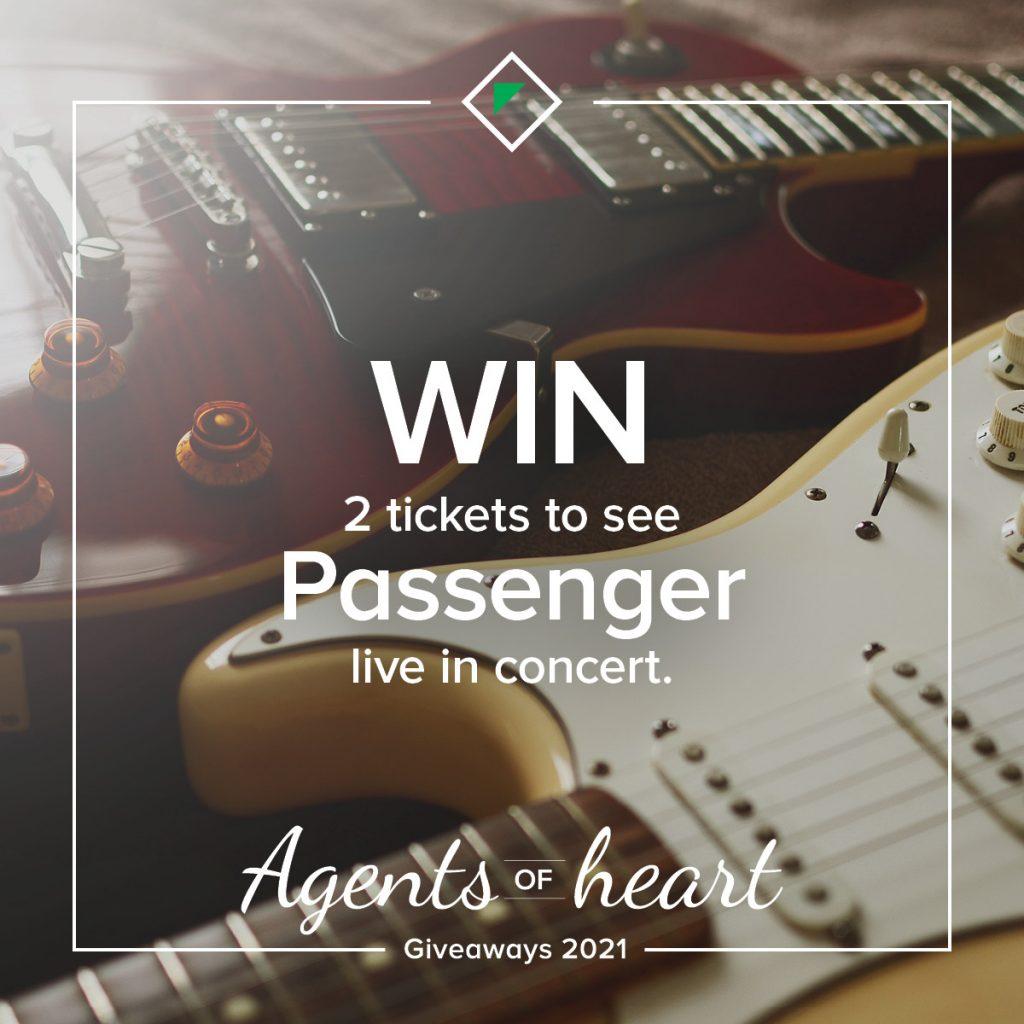 OBrien Real Estate Passenger concert prize giveaway