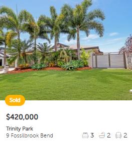 Property valuation Trinity Park QLD 4879