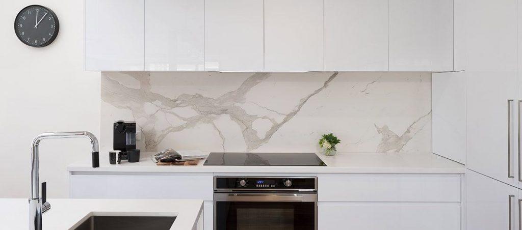 Splashback wall kitchen