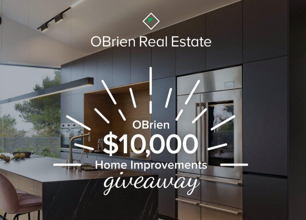 OBrien Real Estate home improvements giveaway