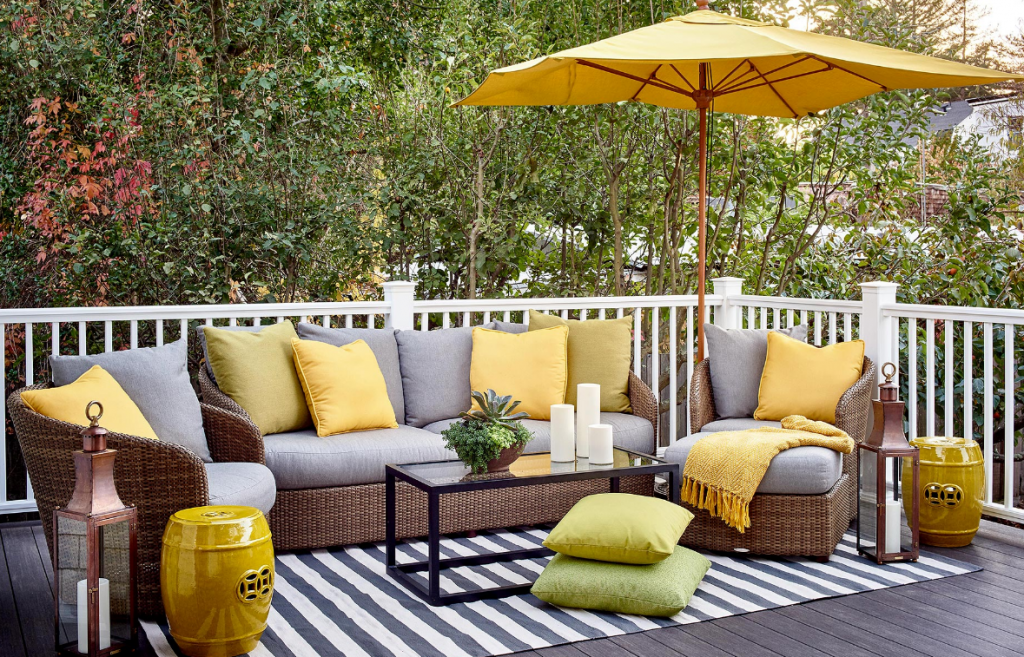 Outdoor furniture styles